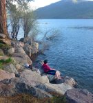 Fishing at Vallecito Lake in Southwest Colorado