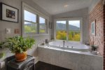 Powder room in River House Villa vacation rental home in Downtown Durango