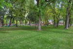 City Park accross the street from River House Villa vacation rental home in Downtown Durango