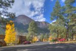 Durango Colorado vacation rental condo at Tamarron Golf Resort mountain views