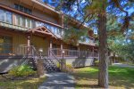 Durango Colorado vacation rental condo at Tamarron Golf Resort front of home