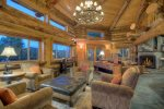 Elk Mountain Retreat vacation rental luxury log cabin in Durango Colorado