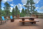 Durango Colorado vacation rental luxury cabin Elk Mountain Retreat gourmet kitchen