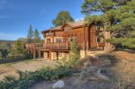 Durango Colorado vacation rental mountain log home