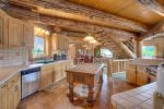 Loft TV room in Elk Mountain Retreat Durango Colorado vacation rental cabin