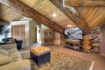 Loft in Elk Mountain Retreat Durango Colorado vacation rental cabin