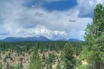 Mountain view from Durango Colorado vacation rental home Elk Mountain Retreat