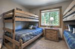 Castle Rock Retreat vacation rental home in Durango Colorado bunk room bedroom