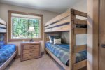 Bedroom in Durango Colorado vacation rental home near Purgatory Resort