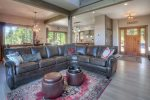 Living room in Castle Rock Retreat vacation rental home in Durango Colorado