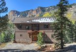 Mountain views from Castle Rock Retreat vacation rental home in Durango Colorado