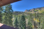 Durango Colorado vacation rental home near Purgatory Resort mountain view
