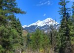 Mountain view from Castle Rock Retreat vacation rental home in Durango Colorado
