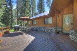 Seven Pines vacation rental home in Durango Colorado at Vallecito Lake