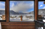 Mountain views from Durango Valley Overlook luxury vacation rental home