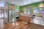 Custom kitchen in Durango Colorado vacation rental home cabin