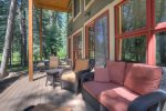 Durango Colorado vacation rental home rear deck