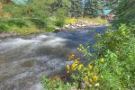 Durango Colorado vacation rental home river with fly fishing