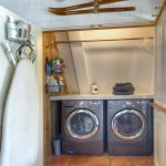 Durango Colorado vacation rental cabin mountain home laundry room