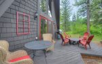 Alpine View vacation rental cabin Durango Colorado outdoor living