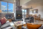 Durango Colorado vacation rental condo living room