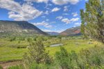 Outdoor living atValley View Retreat vacation rental home Durango Colorado