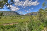 Fall color views from Valley View Retreat in Durango Colorado