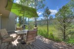 Panoramic views from Valley View Retreat vacation rental home Durango Colorado