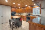 kitchen in Durango Colorado vacation rental home
