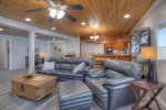 Durango Colorado vacation rental home living room