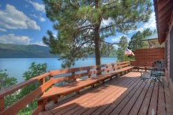 Cabin on the Lake at Vallecito Resort