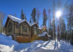 Engineer Mountain winter view form Durango Colorado vacation rental home