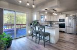 Kitchen in Durango Colorado vacation rental Big Blue House
