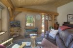 Bedroom in Pine Meadow Cabin vacation rental home Durango Colorado