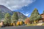 Mountain views from Tamarron vacation rental condo in Durango Colorado