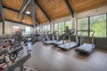 Handicap elevator to Fitness Center Tamarron Lodge vacation rental in Durango Colorado