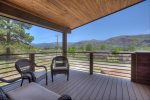 Durango Valley View vacation rental home balcony with mountain views