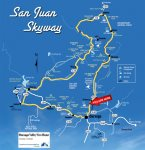 San Juan Skyway Driving Tour Map