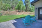 Durango Colorado vacation rental home backyard lawn