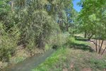 Durango Valley View vacation rental home irrigation canal ditch behind home