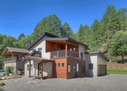 Mountain Contemporary Private Residence Between Durango and Purgatory Resort