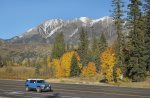 Fall color drive at Purgatory Resort in Durango Colorado