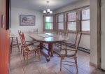 Dining room of Ferringway Condominiums vacation rental in Durango Colorado
