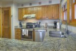 Colorado vacation rental at Durango Ferringway Condominiums kitchen
