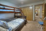Colorado vacation rental at Durango Ferringway twin over queen bunk bed