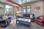 Living room of Ferringway Condominiums vacation rental in Durango Colorado