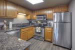Kitchen in Durango Colorado vacation rental condo at Ferringway