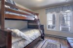 Ferringway Condominiums vacation rental in Durango Colorado bunk room