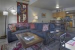 Living room in Ferringway Condominiums vacation rental in Durango Colorado