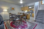Dining room in Durango Colorado vacation rental condo at Ferringway